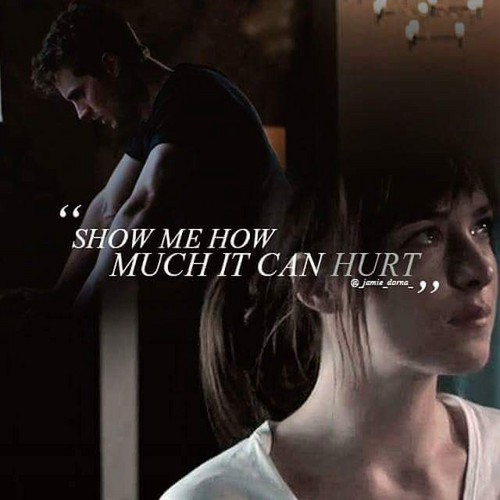 Fifty Shades-Trilogie Hintergrund containing a portrait called Christian and Anastasia
