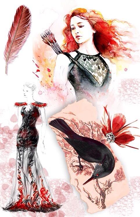 Cinna's Sketchbook | The Interview Dress