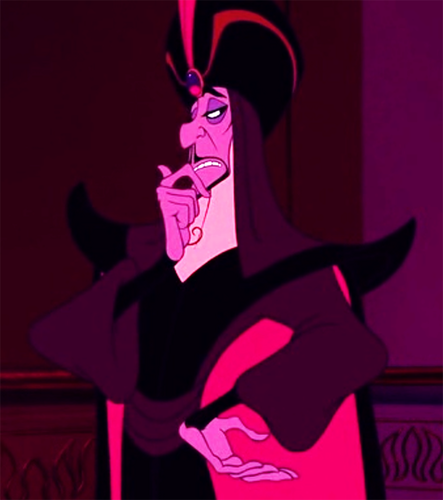 Disney Villains achtergrond called Clever Jaffy