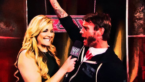 Cm Punk and Rene Young