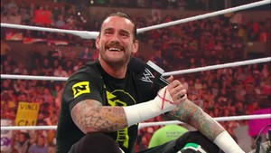 Cm Punk in the ring