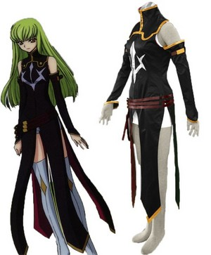 Code Geass - C.C. cosplay costume