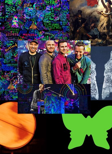 Coldplay wallpaper probably containing a sign entitled Coldplay wallpaper