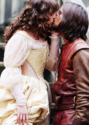Constance and D'Artagnan