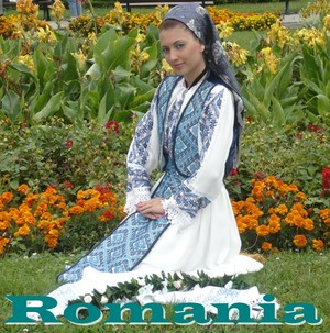 Costume traditionale romanesti Traditional dress Romanian people