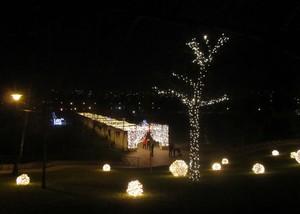 Craciun parcul Alexandru Ioan Cuza Titan IOR iarna Bucuresti Bucharest Romania