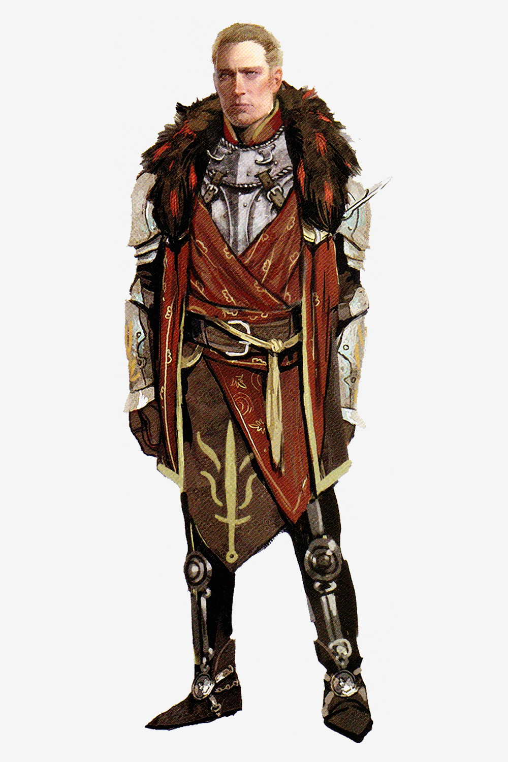 dragon age origins immagini cullen concept art in the art of dragon