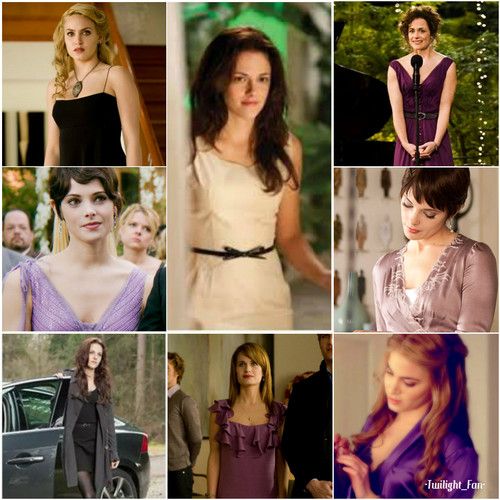Breaking Dawn The Movie wallpaper containing a portrait called Cullen girls and Renee