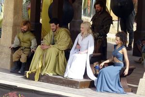 Daenerys Targaryen and Tyrion Lannister