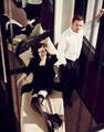 Damian Lewis and Michelle Dockery// Vanity Fair