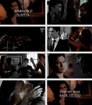 Damon/Elena fanart