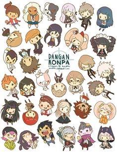 Dangan Ronpa 1 and 2