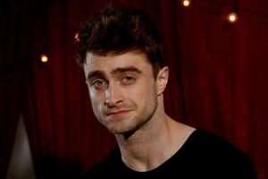 Daniel Radcliffe La Times Photoshoot New Pic Released (Fb.com/DanielJacobRadcliffeFanClub)