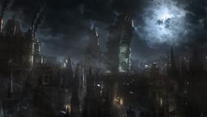 Darkened City