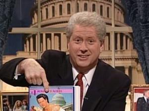 Darrell Hammond as Bill Clinton on Saturday Night Live