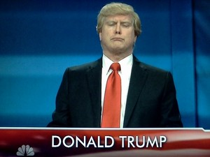 Darrell Hammond as Donald Trump on Saturday Night Live