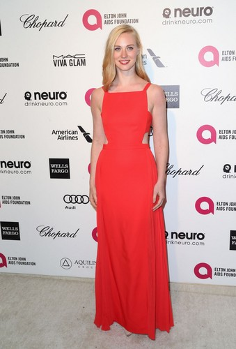 Deborah Ann Woll wallpaper containing a gown, a dinner dress, and a tea gown called Deborah Ann Woll
