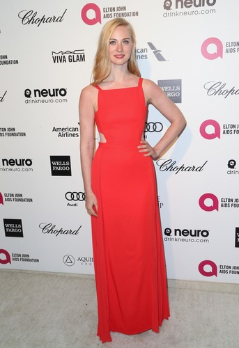 Deborah Ann Woll wallpaper containing a gown, a dinner dress, and a tea gown entitled Deborah Ann Woll