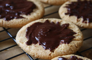Decadent biscotti, cookie