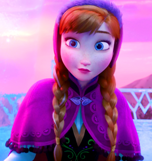 ディズニー Screencaps - Anna.