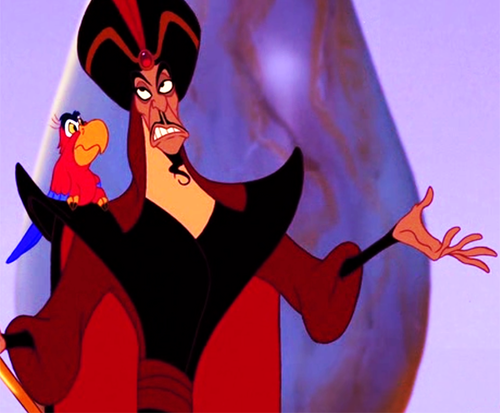 Disney Villains achtergrond titled Displeased Jafar