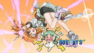 Dog days'' Dog days Season 3 fan service screenshot