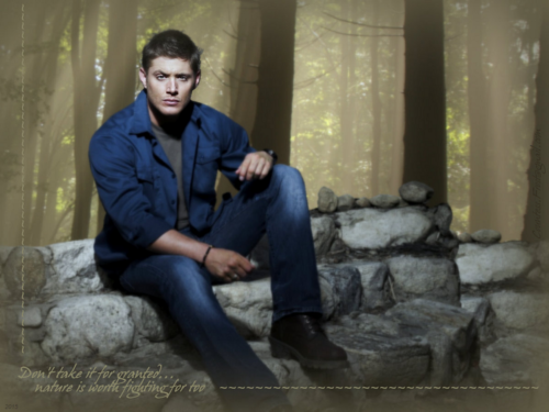 Supernatural wallpaper probably with a living room, a drawing room, and an outerwear called Don't take it for granted...