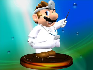 Dr. Mario Trophy (Melee)