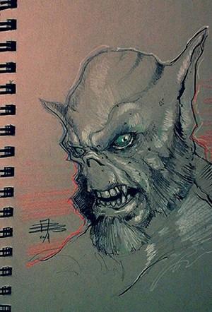 Drawing of Zeb