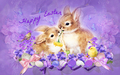 Easter Rabbits  - easter wallpaper