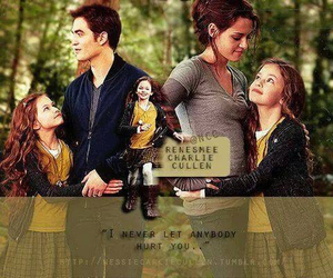Edward, Bella and Nessie