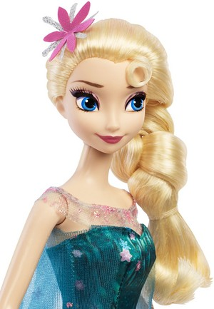 Elsa Frozen Fever Mattel Doll
