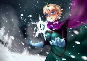 Elsa-Frozen Heart