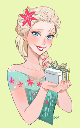 Frozen Fever Hintergrund with Anime entitled Elsa
