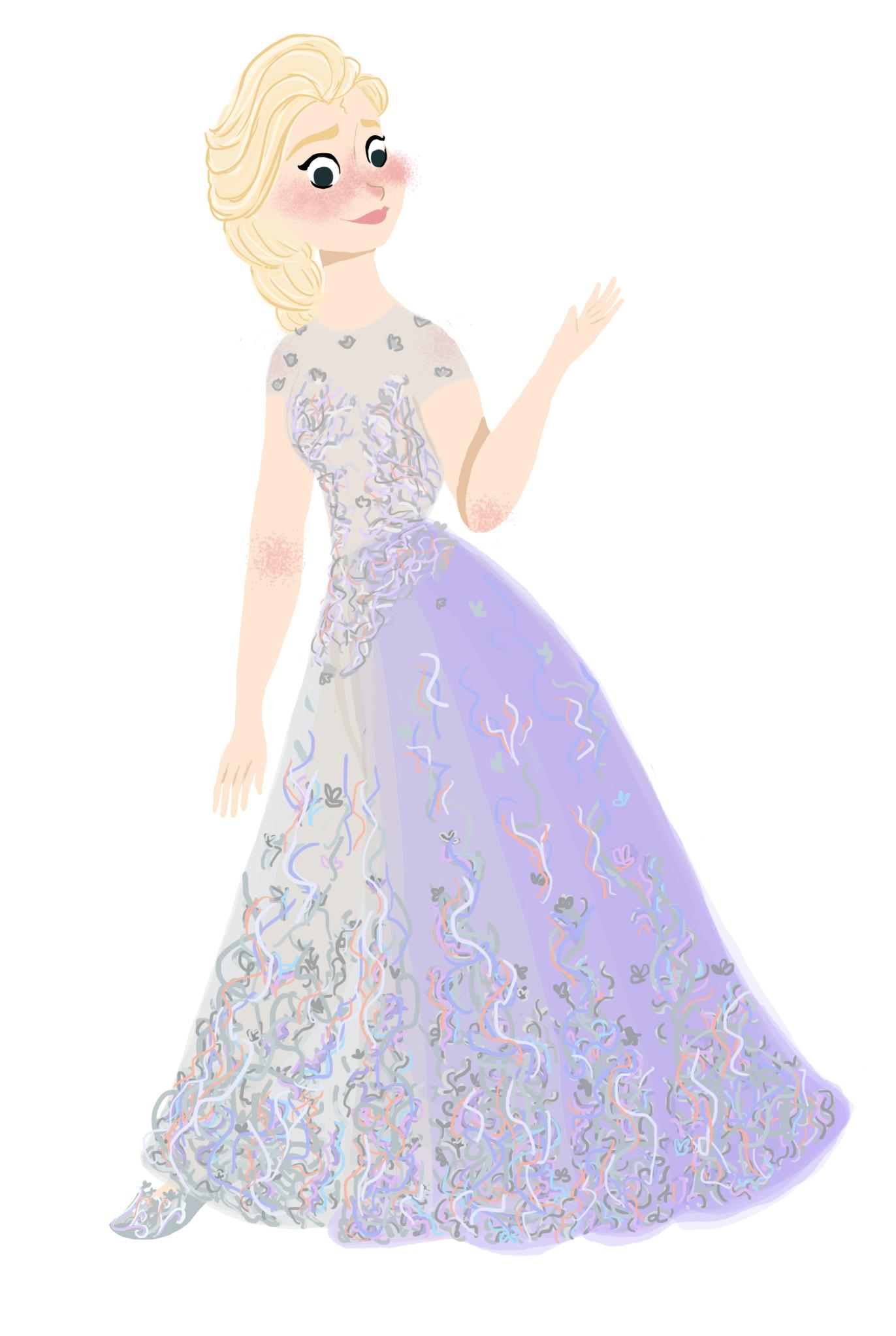 Elsa Frozen Fever Fan Art 38171784 Fanpop