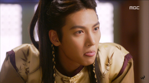 Ji Chang Wook Обои containing a portrait entitled Empress Ki