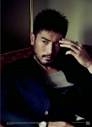 Godfrey Gao wallpaper entitled Esquire Magazine