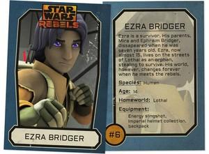 Ezra Bridger Trading Card