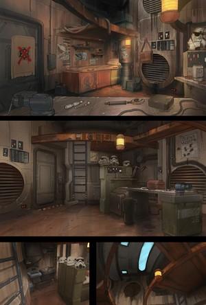 Ezra's Tower Concept Art