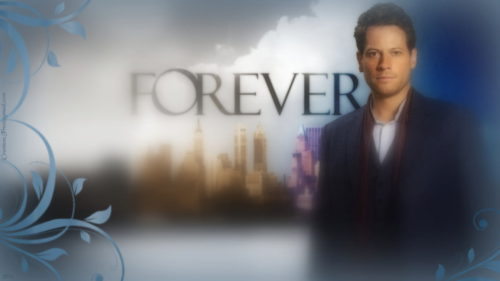 Television wallpaper probably with a portrait called FOREVER (1366x768 wallpaper)