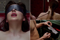 FSOG Ana being blindfolded