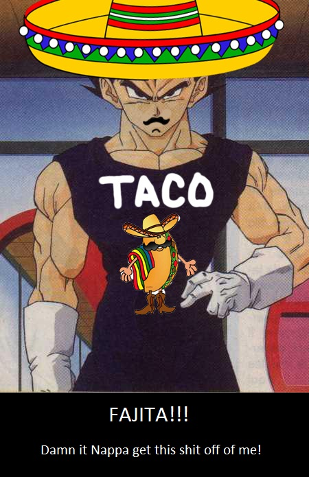 Fajita, prince of all Saiyans.