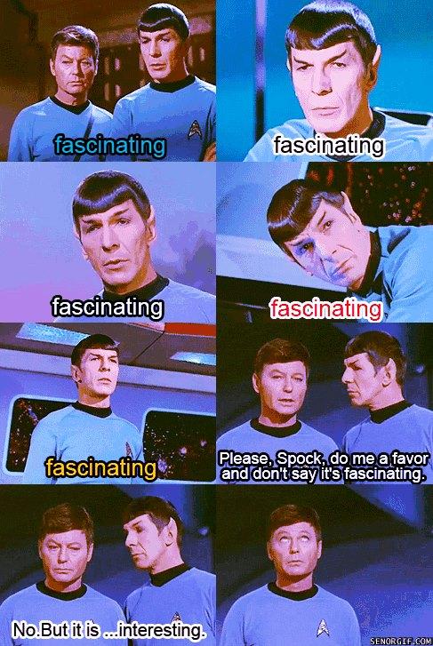 trek fascinating Star spock
