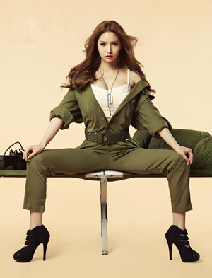 Fiestar's Jei for HIM Magazine March 2015