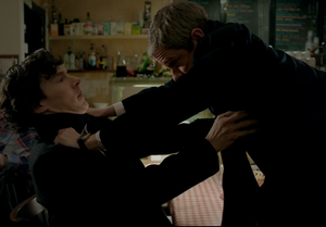 Fighting Johnlock