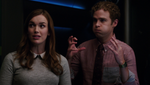 "FitzSimmons in ""Girl in the फूल Dress"""
