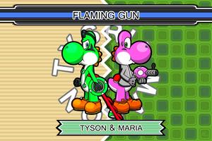 Flaming Gun team