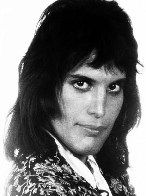 Freddie Mercury in the 70s