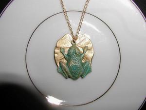 Frog ожерелье
