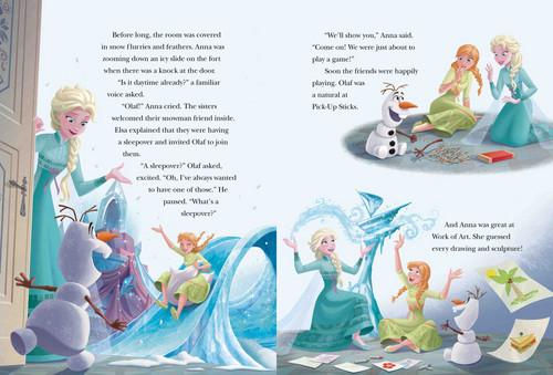 Elsa và Anna hình nền called Nữ hoàng băng giá 5 một phút Stories Book